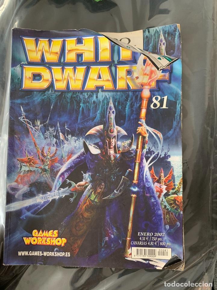 REVISTA WHITE DWARF (Juguetes - Rol y Estrategia - Warhammer)