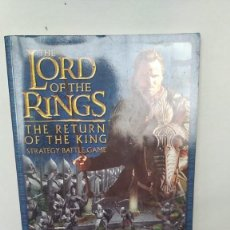 Juegos Antiguos: 28MM THE LORD OF THE RINGS THE RETURN OF THE KING DE GAMES WORKSHOP (INGLES). Lote 239357390