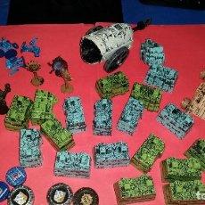 Juegos Antiguos: LOTE DE FIGURAS DE ORCOS - ROL WARHAMER - MOOSE FIGURAS DE GOMA O PVC. Lote 239508780