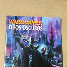 Juegos Antiguos: GAMES WORKSHOP EJERCITOS WARHAMMER ELFOS OSCUROS. Lote 239704020