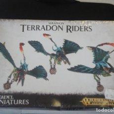 Jeux Anciens: SERAPHON TERRADON RIDERS PRECINTADO. Lote 243112660