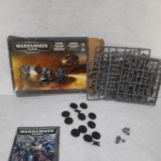 Juegos Antiguos: WARHAMMER 40000 MARINES ESPACIALES SPACE MARINS CASI COMPLETO. Lote 243304885