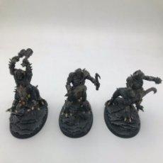 Juegos Antiguos: WARHAMMER AGE OF SIGMAR BEATS OF CHAOS 3 DRAGON OGORS PINTADAS. Lote 243911430