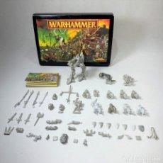 Jogos Antigos: LOTE WARHAMMER PLOMO + CAJA - LEER DESCRIPCIÓN. Lote 245776160