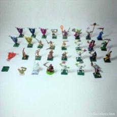 Giochi Antichi: LOTE 30 FIGURAS WARHAMMER PLOMO PINTADAS - MARCADAS CW 1995. Lote 245777005