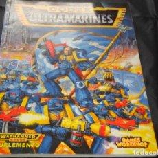 Juegos Antiguos: WARHAMMER 40000 CODEX ULTRAMARINES 96 PÁG., EDICIÓN 1995. Lote 246715605