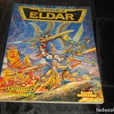 Juegos Antiguos: WARHAMMER 40000 CODEX ELDAR 1995. Lote 246721820