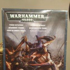 Giochi Antichi: WARHAMMER 40.000 TYRANID BATTLEFORCE - FUERZA DE COMBATE TIRANIDA. Lote 247820785