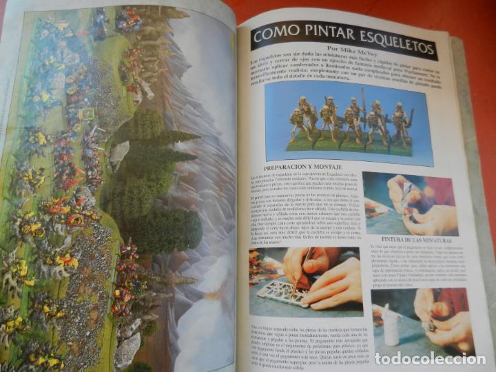 Juegos Antiguos: REVISTA WARHAMMER REGLAMENTO - GAMES WORKSHOP - REF. 3120 - 1993. - Foto 5 - 203425922