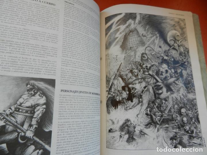 Juegos Antiguos: REVISTA WARHAMMER REGLAMENTO - GAMES WORKSHOP - REF. 3120 - 1993. - Foto 8 - 203425922
