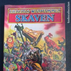 Juegos Antiguos: EJERCITOS WARHAMMER SKAVEN. Lote 250153380