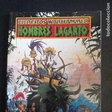 Juegos Antiguos: EJERCITOS WARHAMMER HOMBRES LAGARTO. Lote 250154775