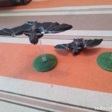 Juegos Antiguos: 2 MURCIELAGOS VAMPIRO - WARHAMMER CONDES VAMPIRO NO MUERTOS. Lote 251717505