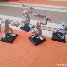 Juegos Antiguos: 4 NECROFAGOS - WARHAMMER NO MUERTOS CONDES VAMPIRO. Lote 251720160