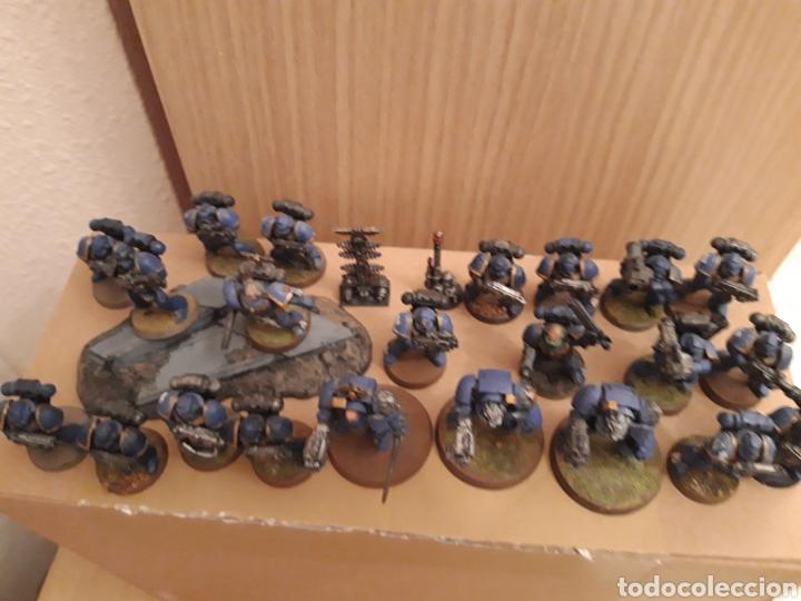 Juegos Antiguos: Warhammer marines 40k lote - Foto 6 - 253560570