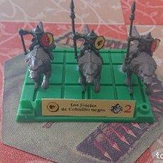 Juegos Antiguos: BATTLE MASTERS MB 1992 LOS JINETES DE COLMILLO NEGRO. Lote 254035070