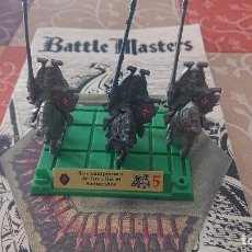 Juegos Antiguos: BATTLE MASTERS MB 1992 LOS CAMPEONES DE GOREFISTEL SAQUEADOR. Lote 254035470
