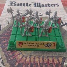 Juegos Antiguos: BATTLE MASTERS MB 1992 INFANTERÍA IMPERIAL GRUMBURG. Lote 254036160