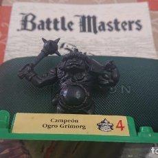 Juegos Antiguos: BATTLE MASTERS MB 1992 CAMPEÓN OGRO GRIMORG. Lote 254036765