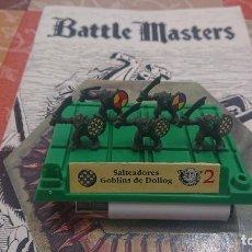 Juegos Antiguos: BATTLE MASTERS MB 1992 SALTEADORES GOBLINS DE DOLLOG. Lote 254037600