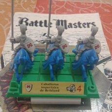 Juegos Antiguos: BATTLE MASTERS MB 1992 CABALLEROS IMPERIALES DE REIKLAND. Lote 254039240