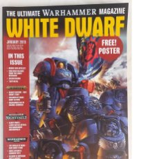 Juegos Antiguos: REVISTA WHITE DWARF. THE ULTIMATE WARHAMMER MAGAZINE. ENERO 2019.. Lote 254205675