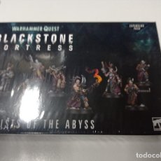 Juegos Antiguos: BLACKSTONE FORTRESS CULTIST OF THE ABYSS FIGURAS MONTADAS COMPLETA. Lote 254629240