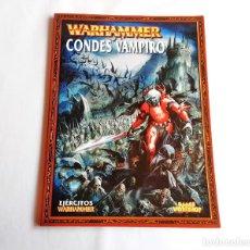 Jogos Antigos: WARHAMMER CODEX CONDES VAMPIROS 7 EDICION. Lote 254983905