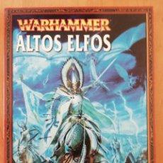 Juegos Antiguos: WARHAMMER ALTOS ELFOS. Lote 258132745