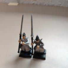 Juegos Antiguos: WARHAMMER VIEJO, 2 ELFOS OSCUROS.. Lote 259014395
