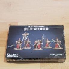 Juegos Antiguos: WARHAMMER 40.000 ADEPTUS CUSTODES CUSTODIAN WARDENS 5 MINIATURES. Lote 261892650