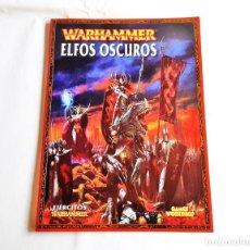 Juegos Antiguos: WARHAMMER CODEX ELFOS OSCUROS 7 EDICION. Lote 262178435