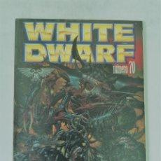 Juegos Antiguos: WHITE DWARF Nº 70 - FEBRERO 2001 - WARHAMMER - MUY BUEN ESTADO - PVP 3,76€. Lote 262404970