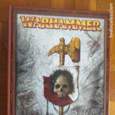 Juegos Antiguos: LIBRO WARHAMMER REGLAMENTO DEL JUEGO DE LAS BATALLAS FANTASTICAS - GAMES WORKSHOP 2006 TAPA DURA. Lote 262489980