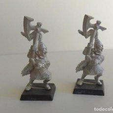 Juegos Antiguos: WARHEMMER - LEONES BLANCOS DE CRACIA - ALTO ELFO - FIGURAS METAL -OLDHAMMER. Lote 262595865