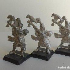 Juegos Antiguos: WARHAMMER - LEONES BLANCOS DE CRACIA - ALTO ELFO - FIRURAS METAL -OLDHAMMER. Lote 262596310