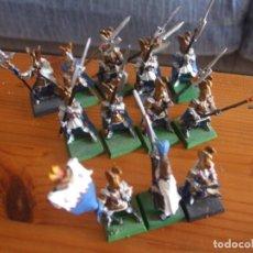 Juegos Antiguos: WARHAMMER (OLDHAMMER): 12 GUARDIA DEL FENIX EJECITO ALTOS ELFOS. Lote 262953705