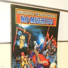 Juegos Antiguos: EJERCITOS WARHAMMER NO MUERTOS WARHAMMER SUPLEMENTO CODEX AÑO 1997 - GAMES WORKSHOP OCASION. Lote 263012955