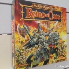 Juegos Antiguos: REINO DEL CAOS CAJA EJERCITOS WARHAMMER SUPLEMENTO CODEX AÑO 1998 - GAMES WORKSHOP OCASION. Lote 263013615
