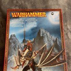 Juegos Antiguos: WARHAMMER VAMPIRE LORD ON ZOMBIE DRAGÓN CITADEL VAMPIRO EN DRAGÓN ZOMBI MAQUETA. Lote 263071980