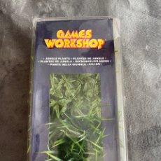 Juegos Antiguos: WARHAMMER WORKSHOP JUNGLE PLANTS MAQUETA DIORAMA JUEGOS DE MESA ROL. Lote 263108405