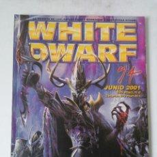 Juegos Antiguos: WHITE DWARF Nº 74 - JUNIO 2001 - WARHAMMER - MUY BUEN ESTADO. Lote 263779260
