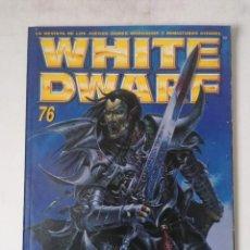 Juegos Antiguos: WHITE DWARF Nº 76 - AGOSTO 2001 - WARHAMMER - MUY BUEN ESTADO. Lote 263779890