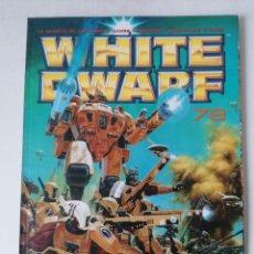 Juegos Antiguos: WHITE DWARF Nº 78 - OCTUBRE 2001 - WARHAMMER - MUY BUEN ESTADO. Lote 263780975