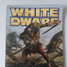 Juegos Antiguos: WHITE DWARF Nº 84 - ABRIL 2002 - WARHAMMER - MUY BUEN ESTADO - PVP 4,50 €. Lote 263787975
