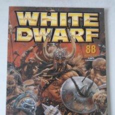 Juegos Antiguos: WHITE DWARF Nº 88 - AGOSTO 2002 - WARHAMMER - MUY BUEN ESTADO - PVP 4,50€. Lote 263789280