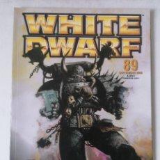 Juegos Antiguos: WHITE DWARF Nº 89 - SEPTIEMBRE 2002 - WARHAMMER - MUY BUEN ESTADO - PVP 4,50€. Lote 263789650