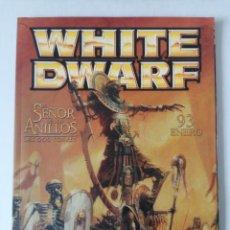 Juegos Antiguos: WHITE DWARF Nº 93 - ENERO 2003 - WARHAMMER - MUY BUEN ESTADO - PVP 4,50€. Lote 263790685
