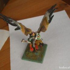 Juegos Antiguos: WARHAMMER FANTASY (OLDHAMMER): CONDE EN GRIFO DE PLOMO EJERCITO IMPERIO. Lote 264436654