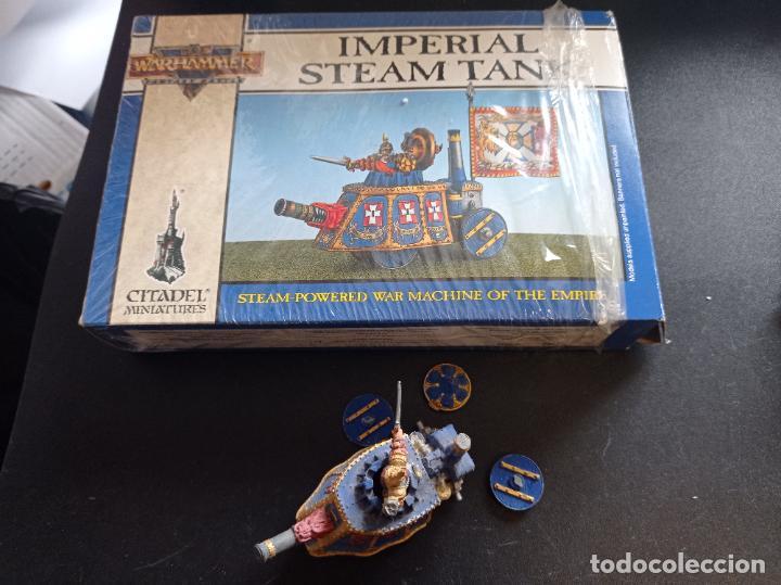 Juegos Antiguos: Warhammer Fantasy Battle Imperial Steam Tank - Foto 2 - 265457364